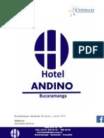 Portafolio 10% Hotel Andino 2015 Bucaramanga Pago Directo