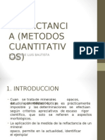 Reflactancia (Métodos Cuantitativos) Ppt