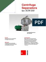 Centrifuga Separadora Scm-200