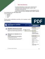 Manual Active Directory