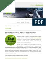 + Ciencia Andalucía 12 de junio de 2015
