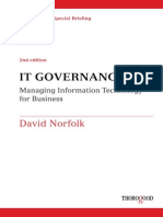 A Thorogood Special Briefing IT Governance