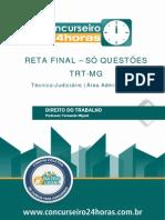 SIMULADO AULA 01 DIREITO DO TRABALHO -  TÓPICO 01 -  TJAA.pdf