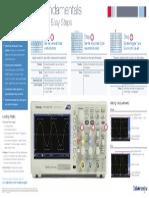 Oscilloscope Fundamentals Poster