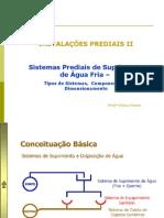 Apostila 1- Água Fria - Sistema e Componentes e Dimensionamento-final
