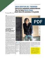 Nacho Vegas en el Tentaciones (El País)