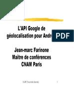 Géolocalisation Pour Android