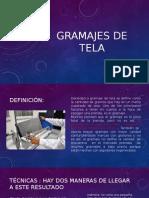 Gramajes de Tela Grupo