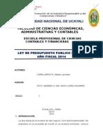 Estructura de Costos - Forestal Mavic Sac