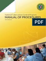 National Tuberculosis Control Program Manual of Procedures 5th Edition