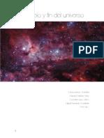 Principio y Fin Del Universo. PDF.