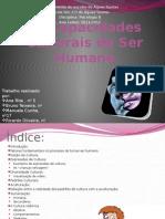 As Capacidades Culturais Do Ser Humano[1]