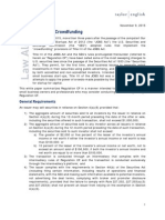 Regulation Crowdfunding