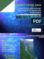Desarrollo Sustentable La Nueva Politica Del Agua