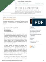 Las Crónicas de Spectator_ El Hundimiento de México