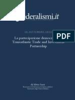 Transatlantic Trade and Investment