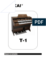 Manual ÓRGÃO T1