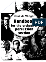Handbook for the Orchestral Percussion Section