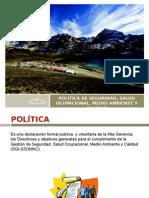 Presentación Política Ssomac