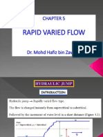 (N)CEWB222 Chapter 5 - Rapid Varied Flow