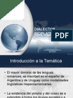 Disertación Dialecto Rioplatense