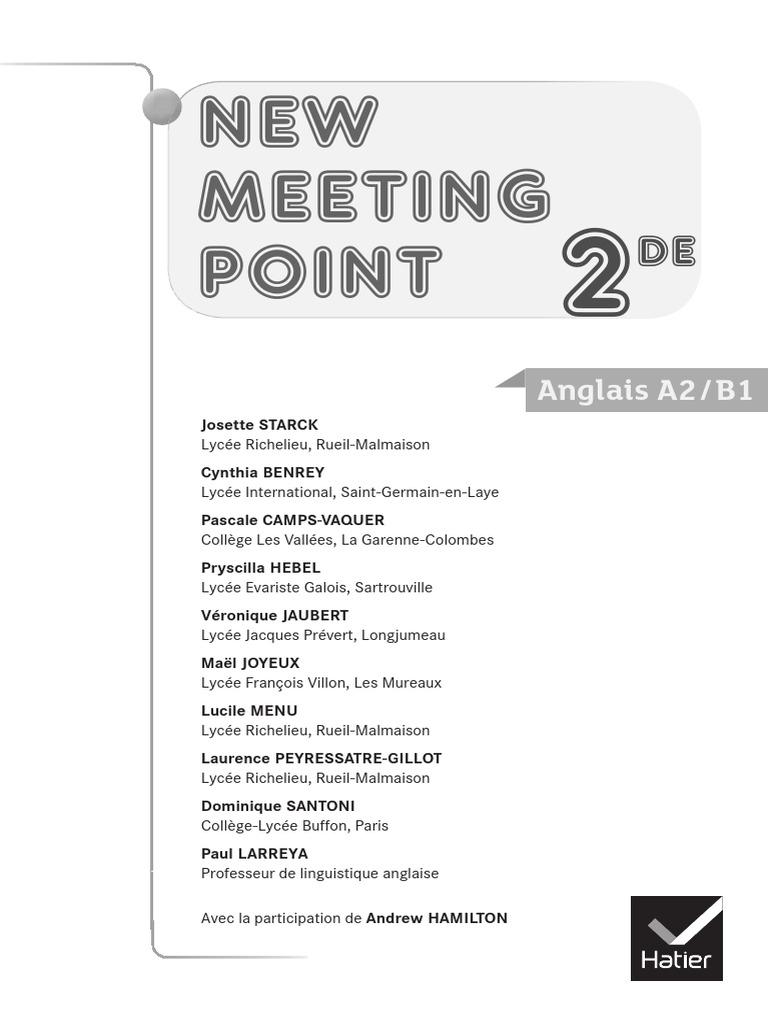 Assez Meeting Fichier Pedago | Communication | Psychology & Cognitive  YG51