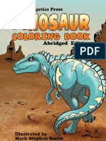 Dinosaur Coloring Book 2014