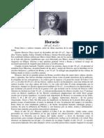 Horacio, Quinto - Carmini