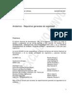 NCh0998-1999 - Andamios