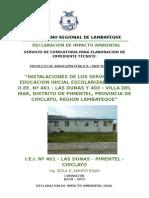 Impacto Ambiental Las Dunas