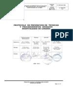 Protocolo de Prevencion en Tecnicas y Procedimientos Invasivos