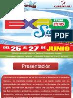 Tercer Avance Expo Feria Sucre Productivo 2015