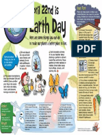 Earth Day Infotoon Kids Discover