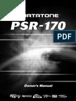 Yamaha - Psr170- Manual