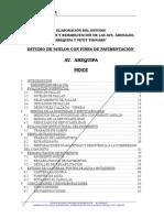 Estudio Suelos y Pavimentos Arequipa 02-05-2006