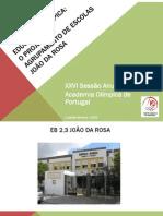 Educação Olímpica - Agrupamento Escolas João Da Rosa -Olhão