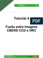 Tutorial 04 - Fusão entre imagens CBERS CCD e HRC