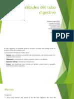 Generalidades Del Tubo Digestivo