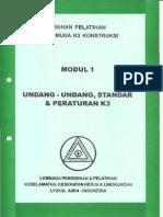 Modul Undang-undang, Standar Peraturan K3