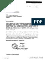 Oficio a Superintendente de Banca, Seguros y AFP