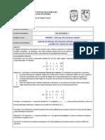 Practica 3. Álgebra Lineal