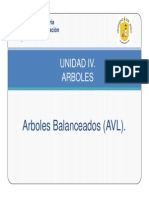 Arboles AVL Programacion