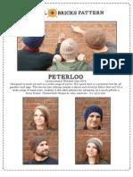 Peterloo Hat Pattern