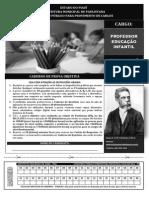 INST MACHADODE ASSIS 179 Caderno de Prova Professor de Educao Infantil
