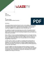 Glenn Beck's letter to the RNC