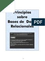 Principios sobre Bases de Datos Relacionales