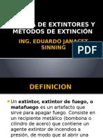 Clase de Extintores y Metodos de Extincion (1)