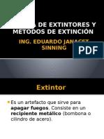 Clase de Extintores y Metodos de Extincion