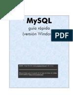 MySQL guía rápida