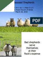 The Baaaaad Shepherds / Slides